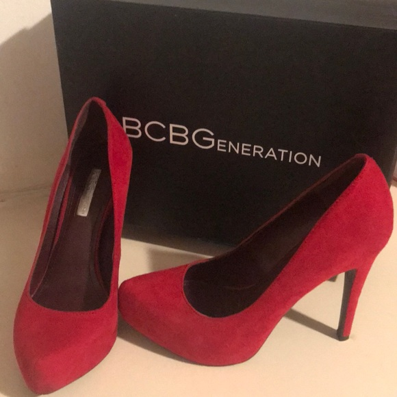 8ed671fbff5 BCBGeneration Shoes - BCBG red pumps
